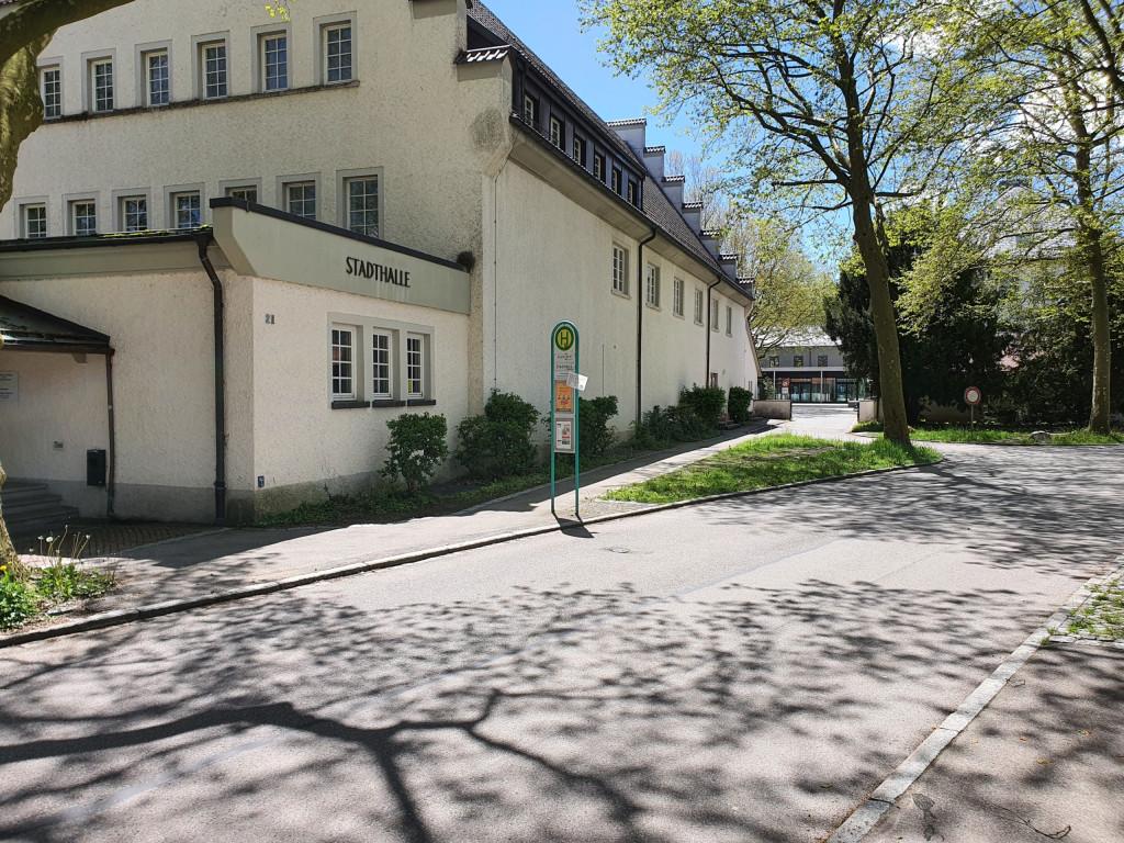 Bushaltestelle Wangen Stadthalle (FDP Bushaltestellencheck 2021)