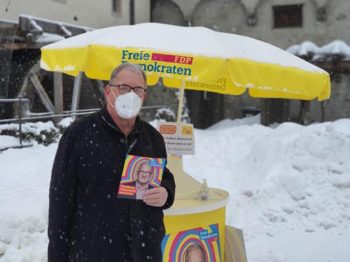 Frank Scharr, FDP Landtagskandidat für die Landtagswahl in Baden-Württemberg 2021