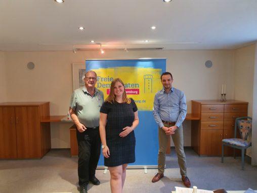 Nominierung von Frank Scharr und Lena Braun als Kandidaten zum Landtag von Baden-Württemberg im Wahlkreis 68