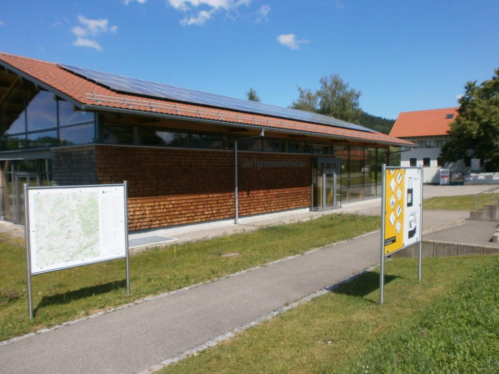 Das Dorfgemeinschaftshaus in Großholzleute.